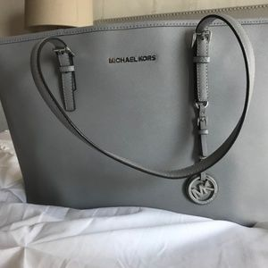 AUTHENTIC Michael Kors LARGE Grey tote